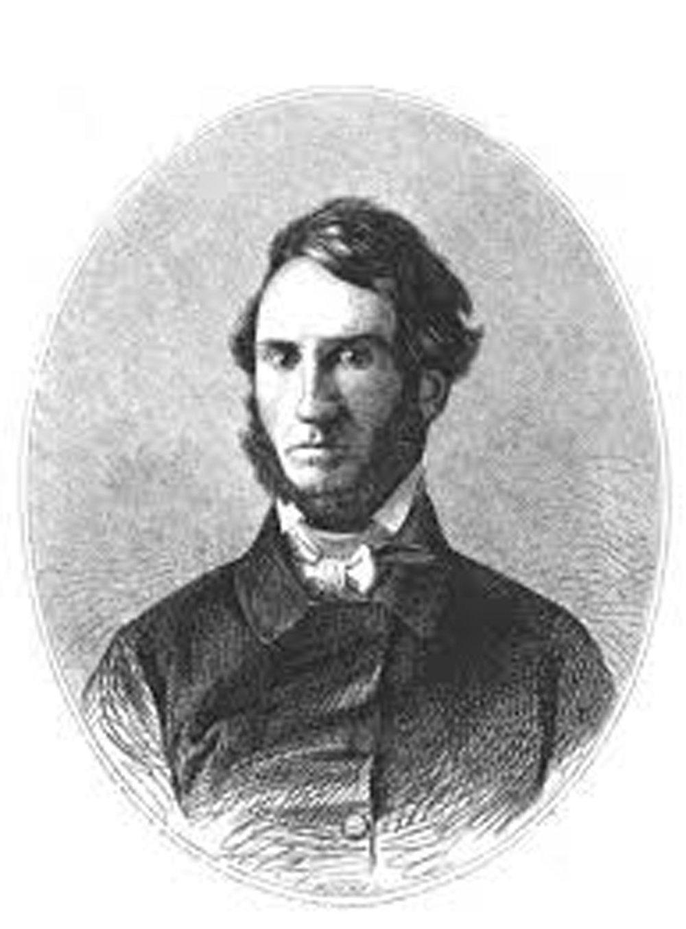 John Lloyd Stephens. Source:  wikipedia.org .