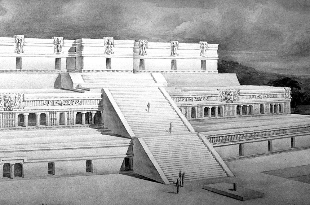 Drawing by Tatiana Proskouriakoff, 1946. Source: reed.edu .