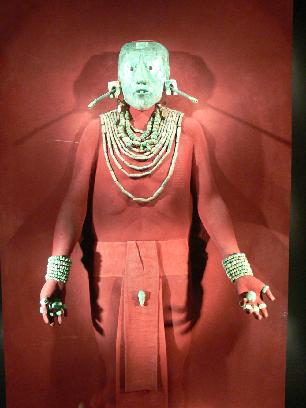 Pakal in his funeral attire.