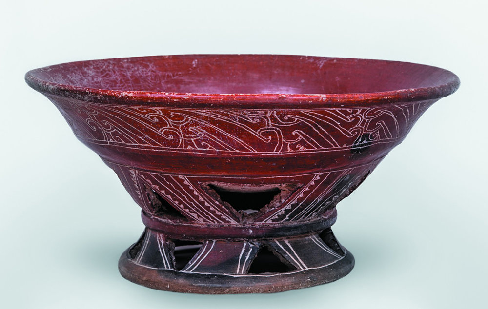 Red vessel. Source:  inah.gob.mx .