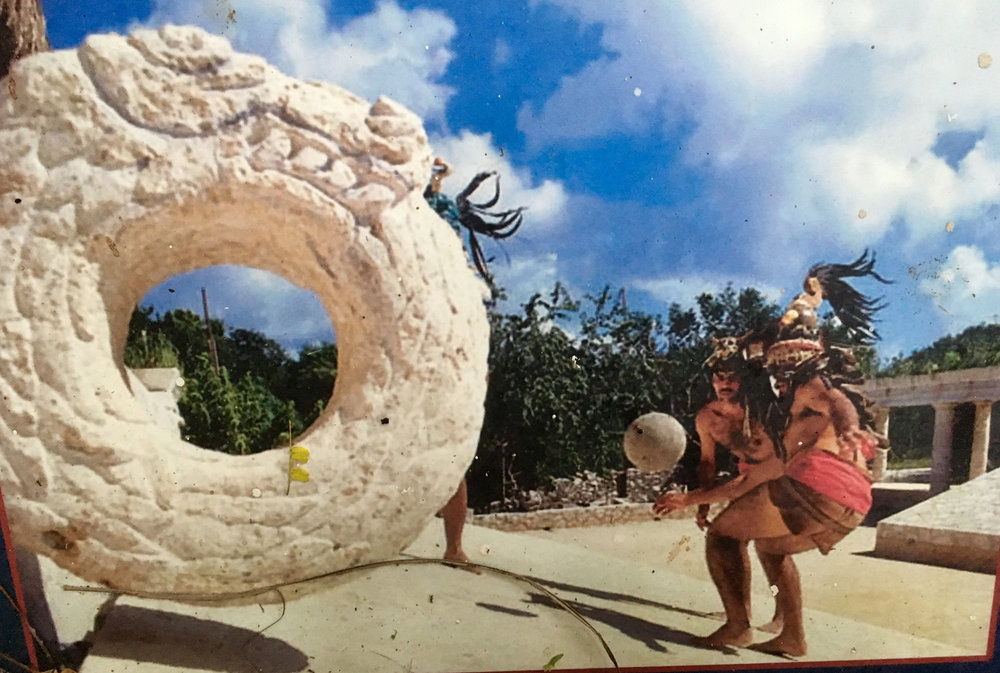 The images are from Xcaret billboards.