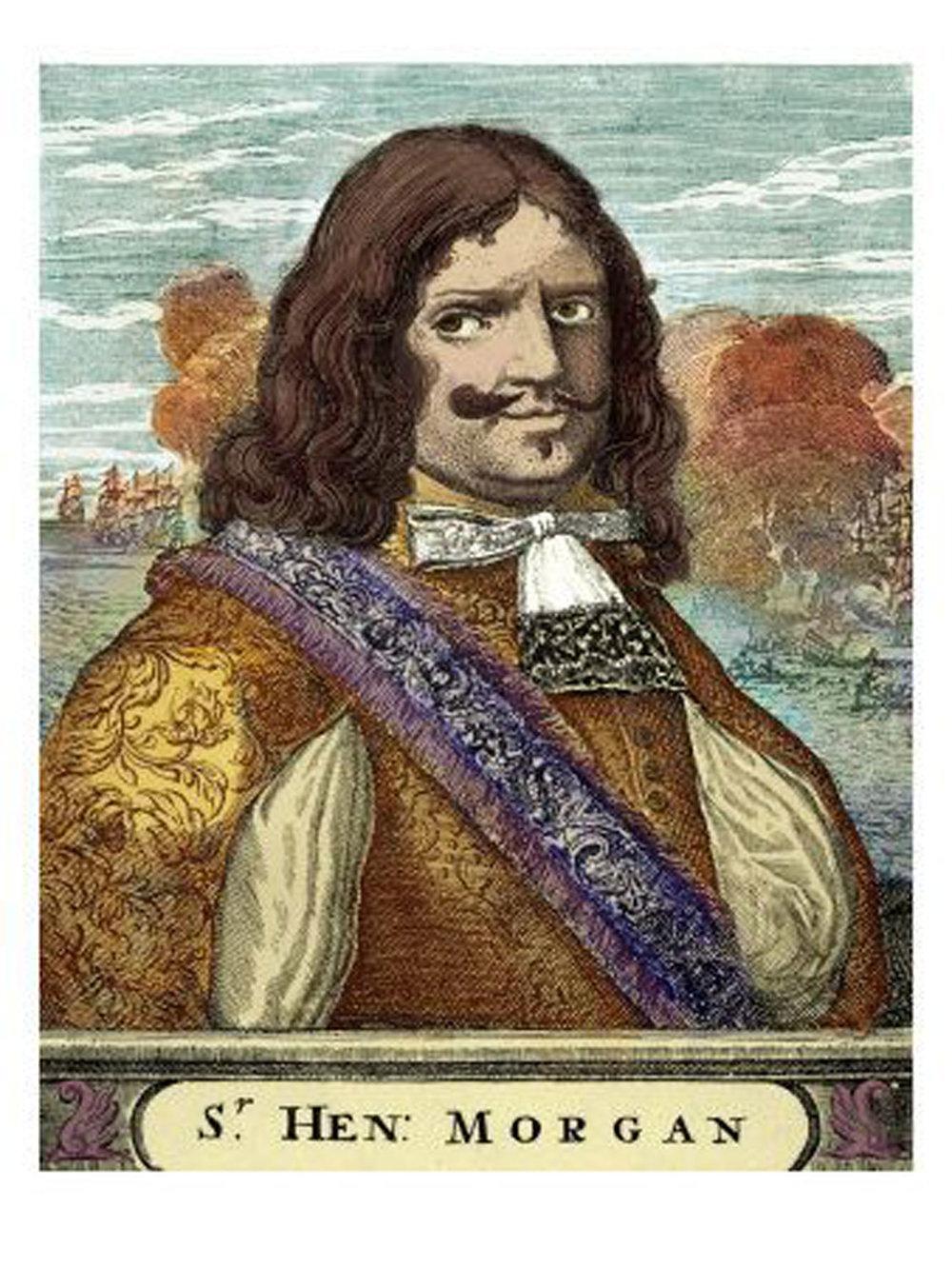 Sir Henry Morgan, a Welsh privateer:  en.wikipedia.org .