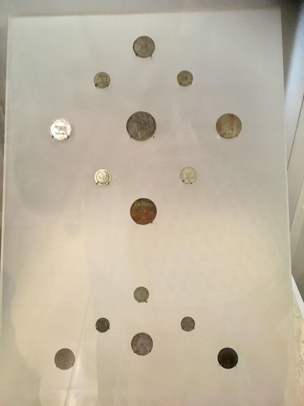 The currencies of haciendas.