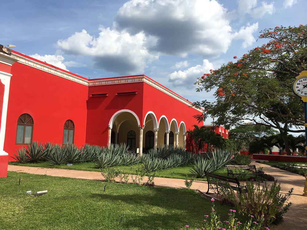 Hacienda Yabucú.