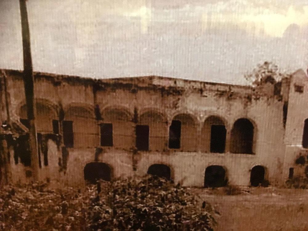 Teya before reconstruction.