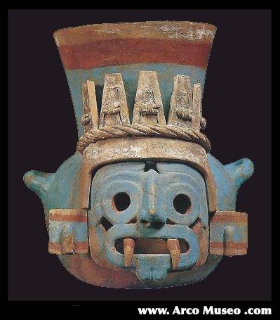 Tlaloc:  arcomuseum.com .