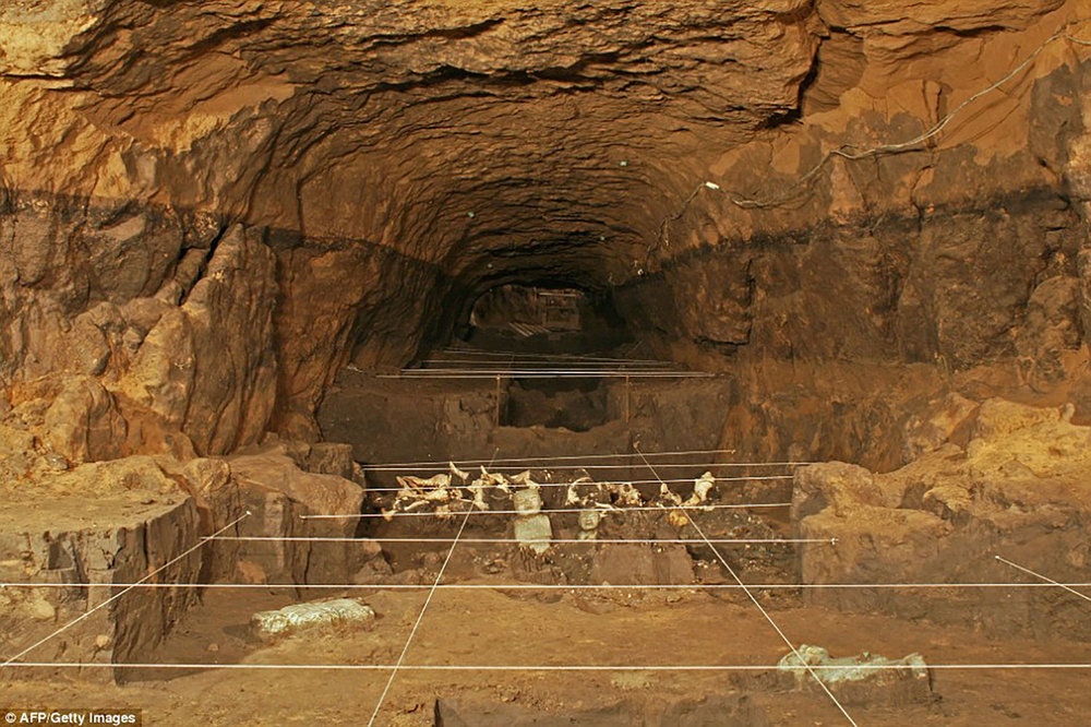 Could the tunnel lead to a royal tomb?:  reuters.com .