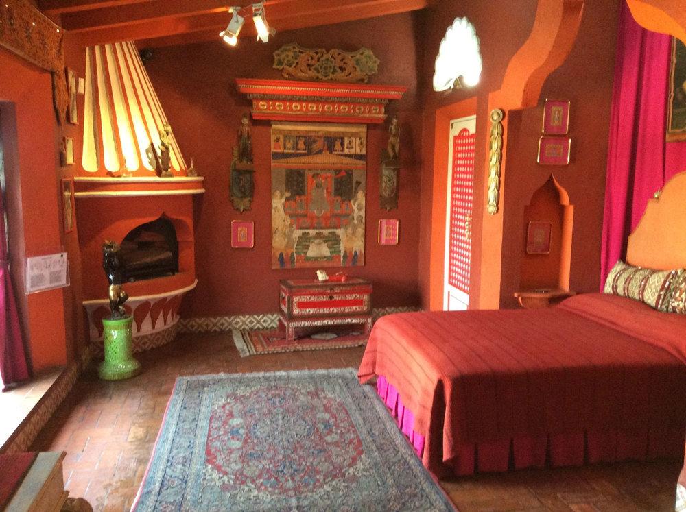Josephine Baker's bedroom.