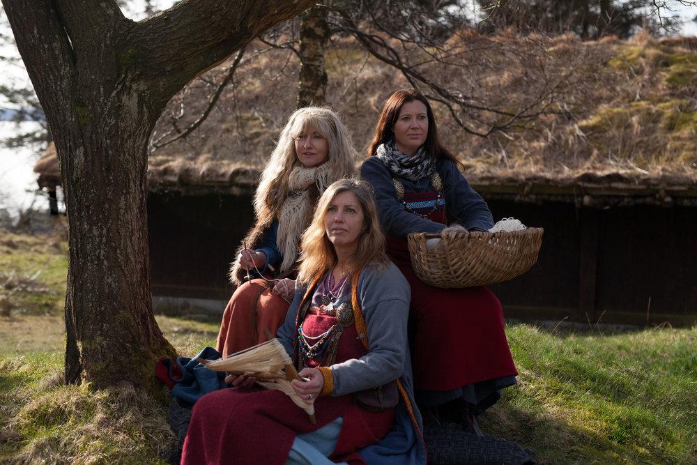 Nornes of Avaldsnes. 4. Foto Tina Signesdottir Hult.jpg