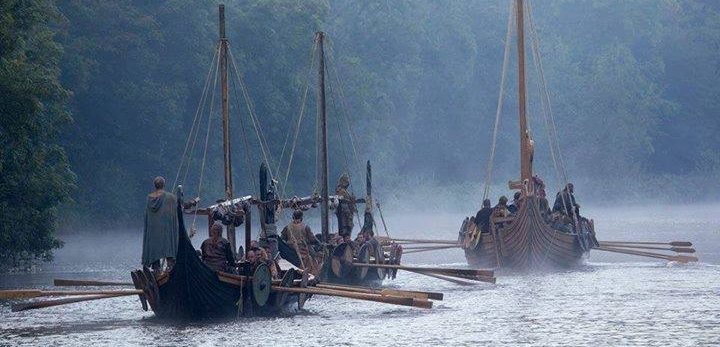 Arglass Vikings Ships