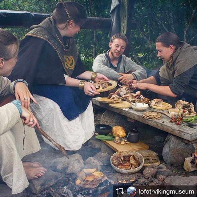 Head north to Lofotr for the Viking Festival, which starts today.  The summer may be short but the nights are long.  #lofoten #visitnorway #visitlofoten #lofotrvikingmuseum #vikingfestival #vikingfeast #vikinglife #vikingfarm #vikinglonghouse