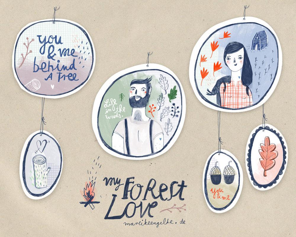 Runde 2: Eine romantische Hipster-Walden-Forest Dekoration