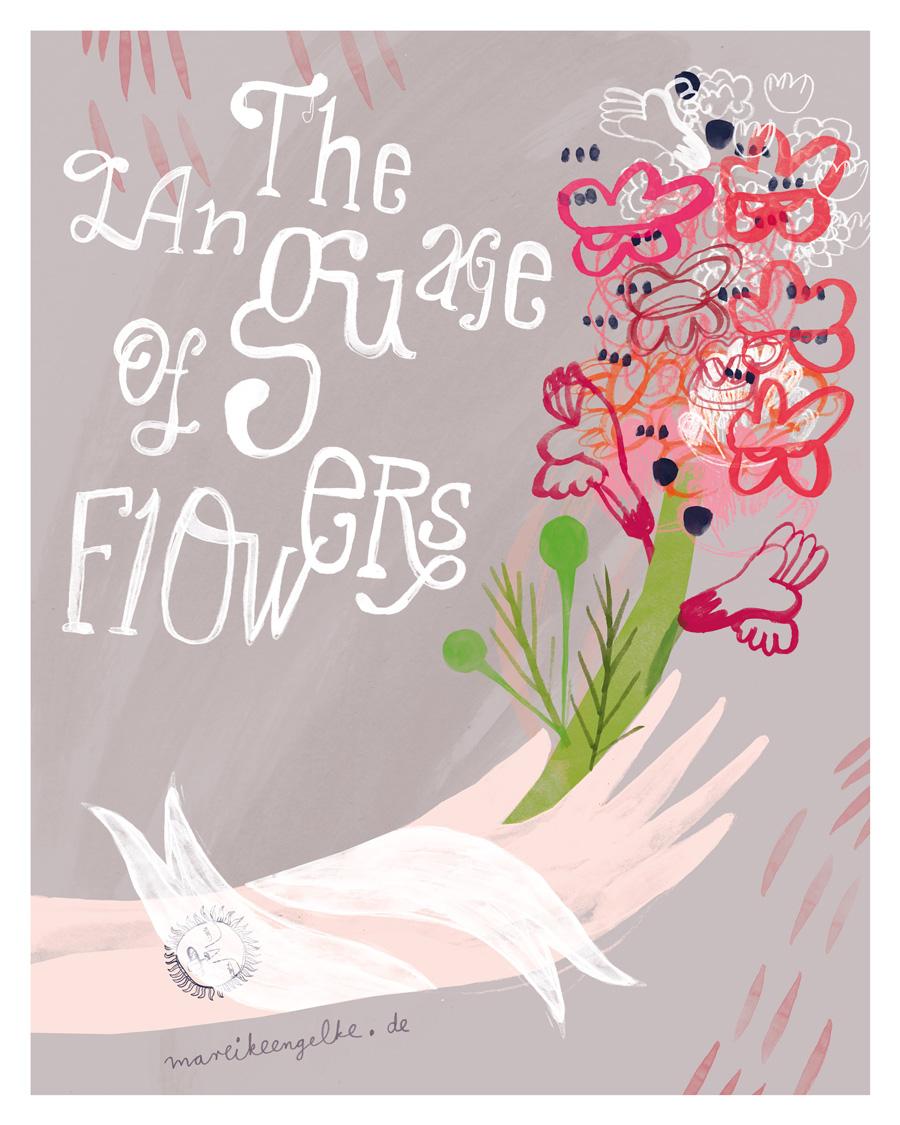 Runde 5: Ein florales Cover für ein Notizbuch