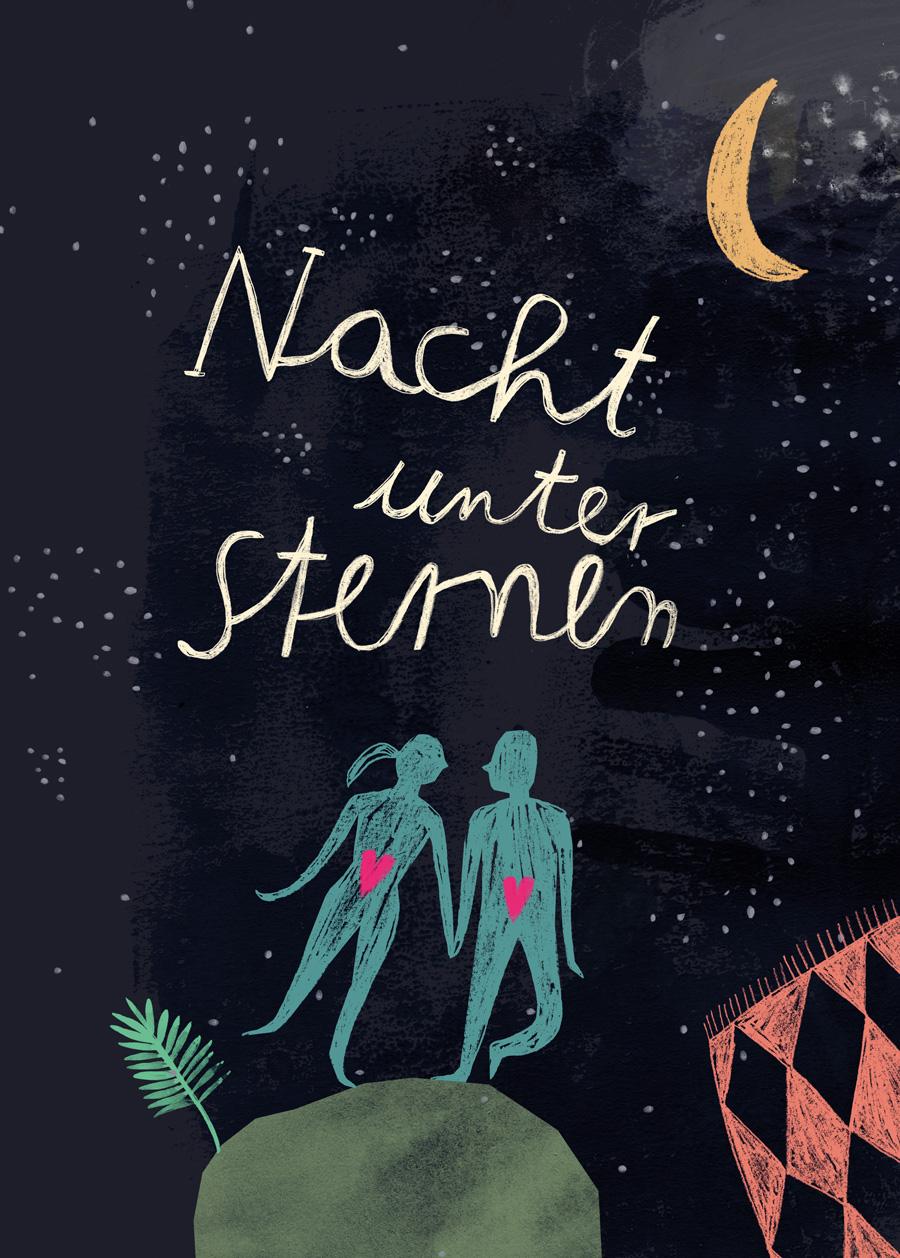 Nacht unter Sternen