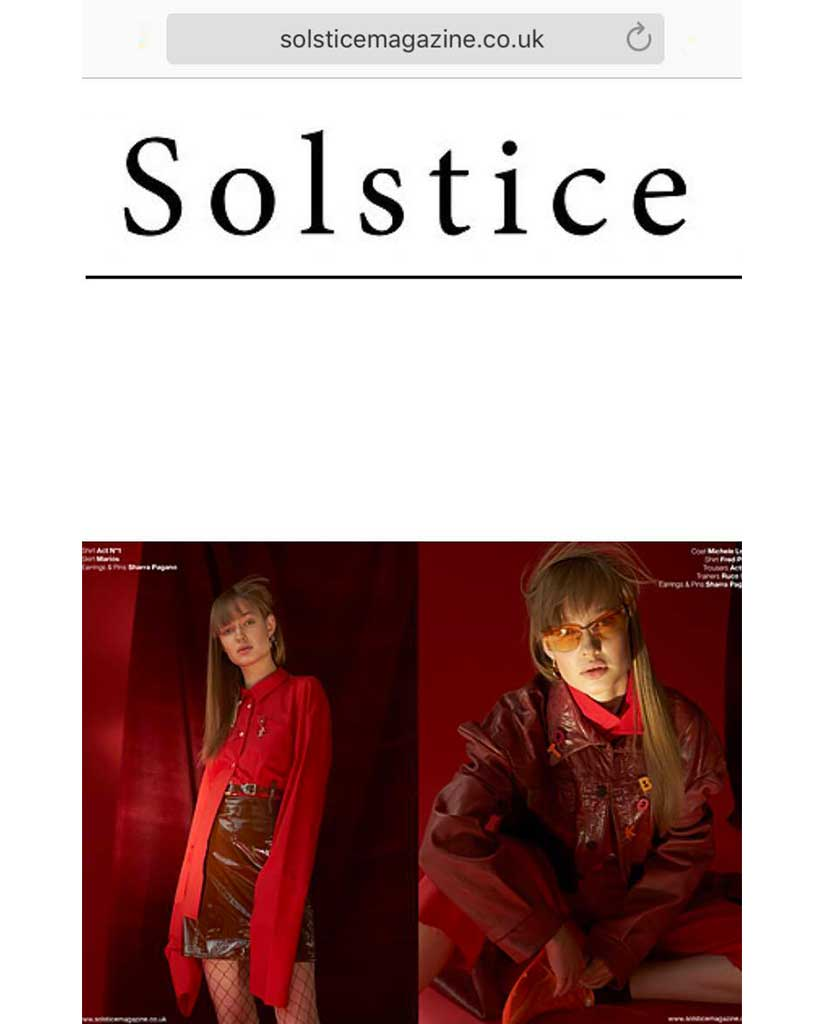 SOLSTICE MAGAZINE - APRIL 2017