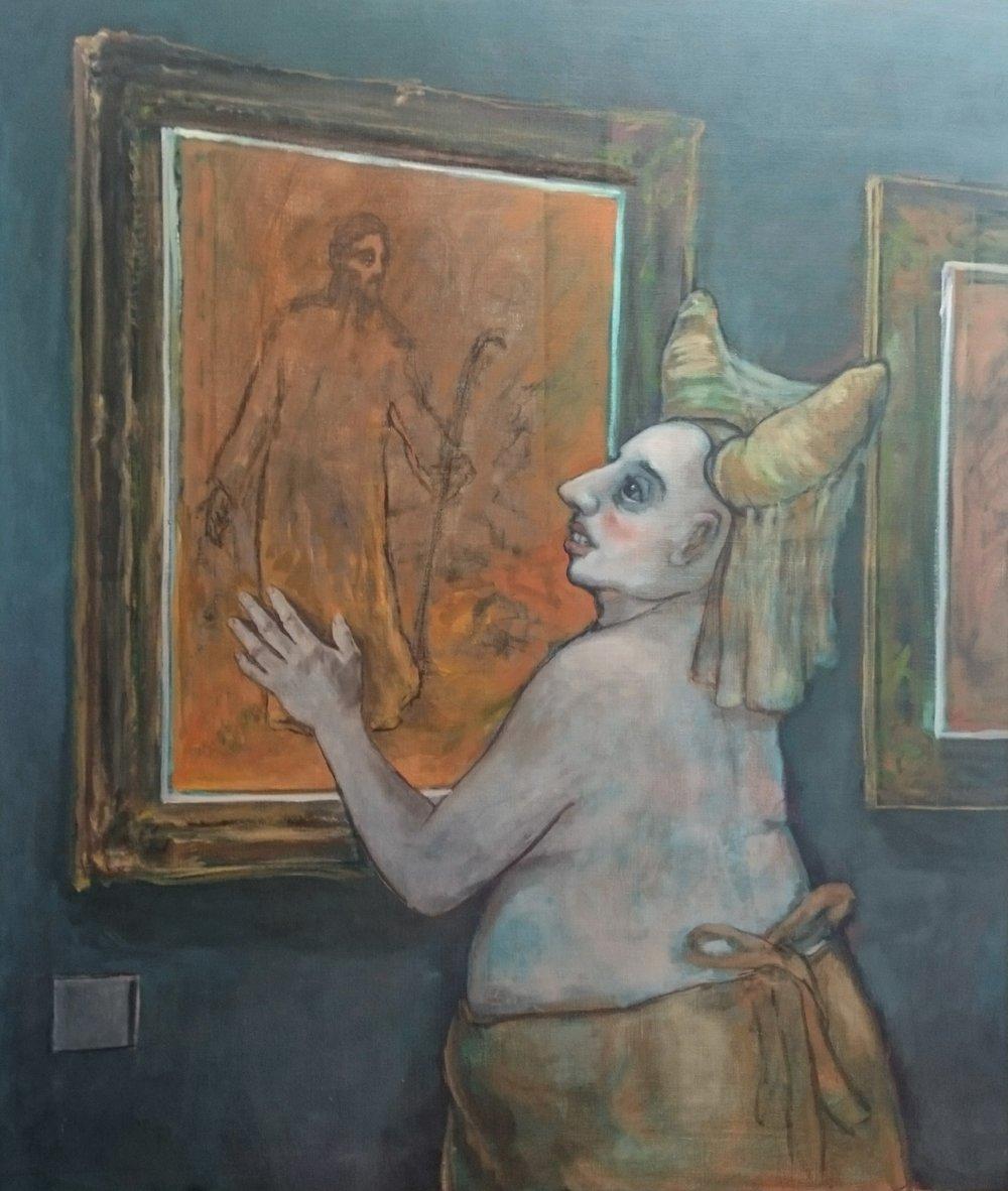"Noli Me Tangere 50 x 45"" 2017"