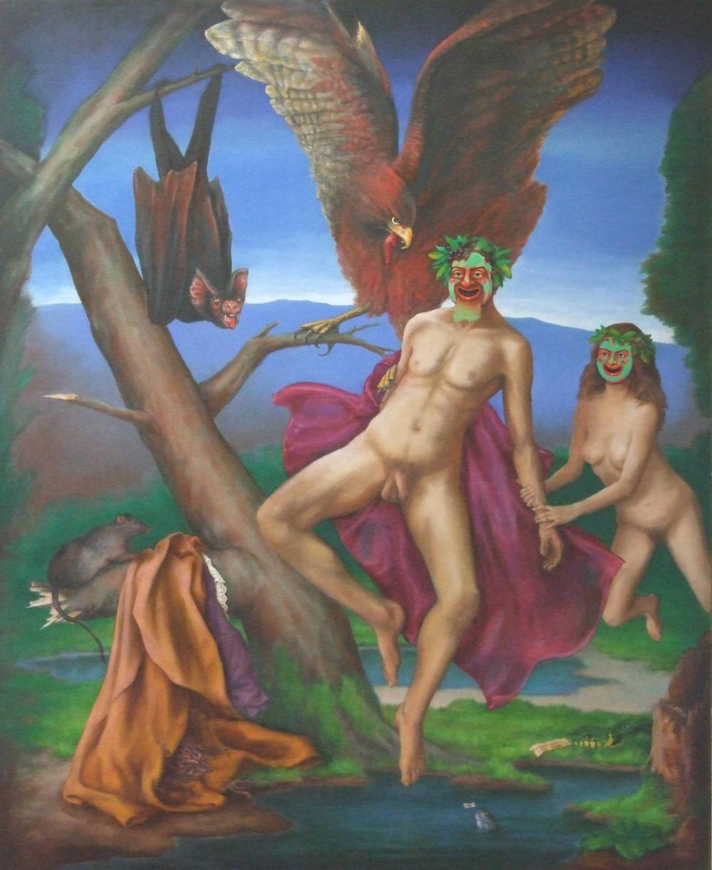 """Il Carnivale degli Animali 38 x 48"""" 2001"""