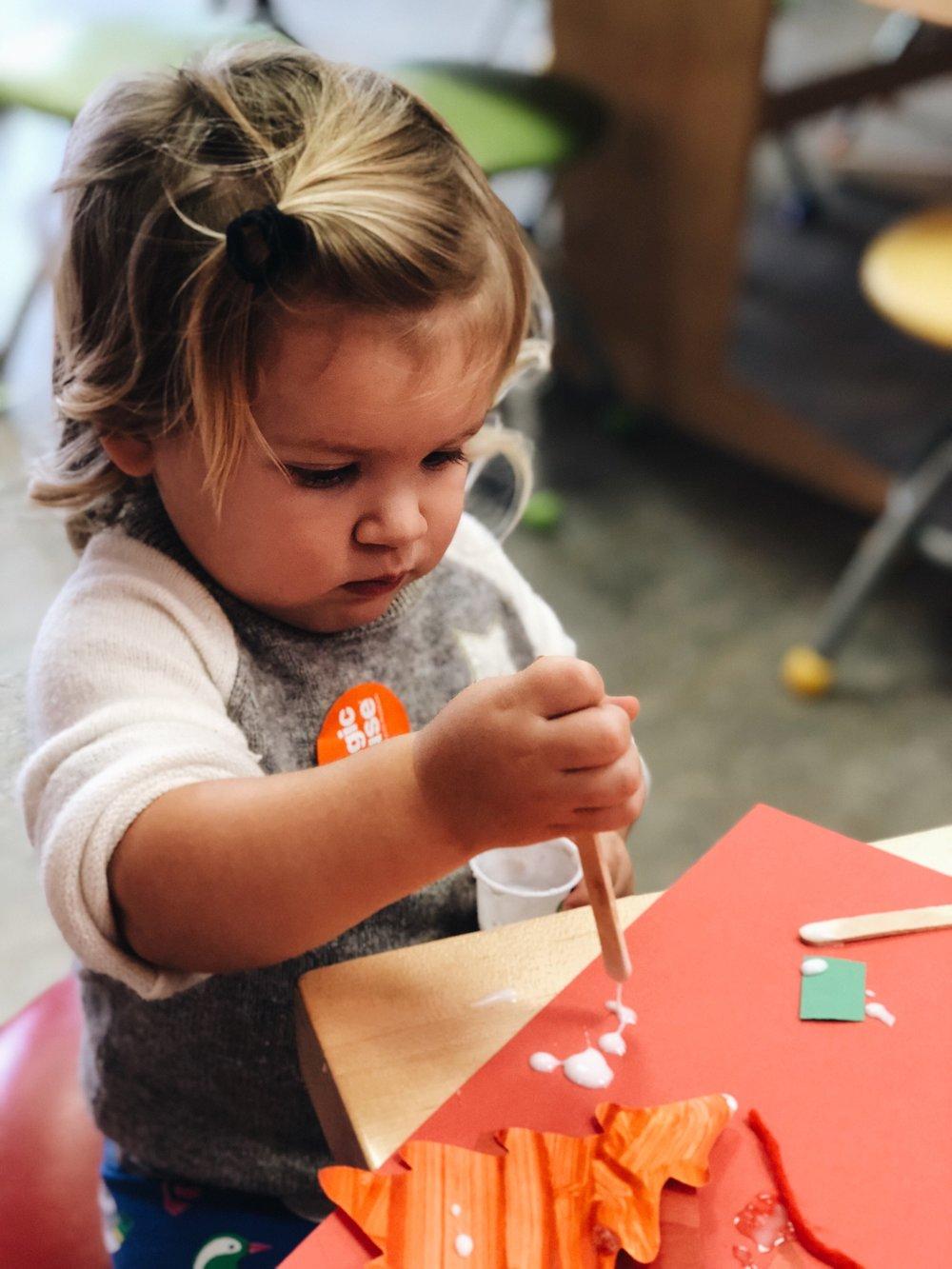 creative baby girl