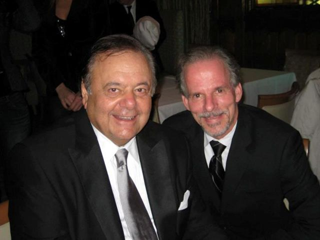 With client Paul Sorvino