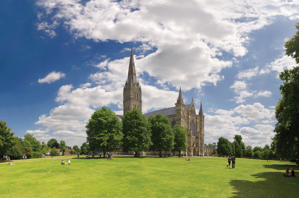 Salisbury is one of England's finest 13th century Gothic cathedrals and is home to Britain's tallest spire, the world's best preserved original Magna Carta 1215 and Europe's oldest working clock.