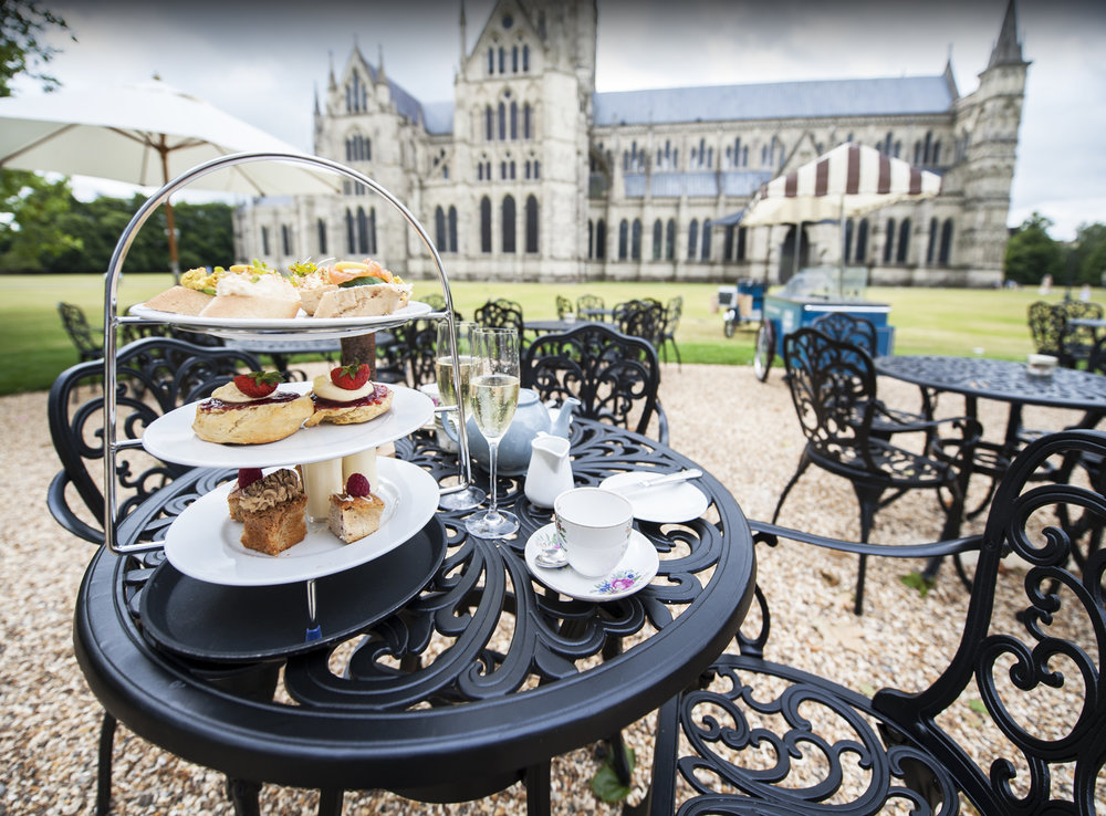 High tea with the best view in the UK at the Bell Tower Tea Rooms