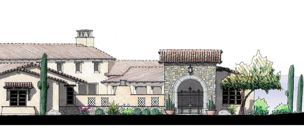 - Construction has begun on the Conley Custom Residence in Scottsdale, Arizona