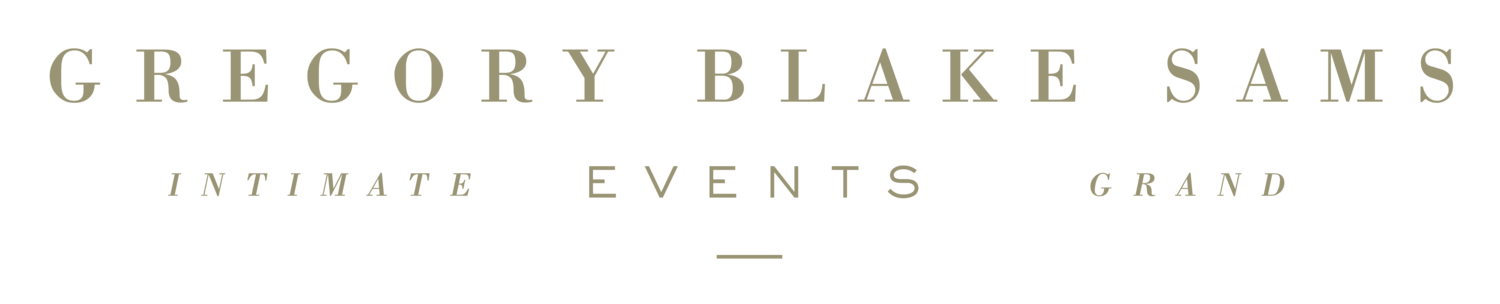 Gregory Blake Sams Events