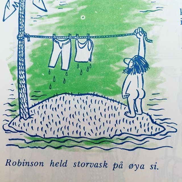 #norskbarneblad #humor #syttitalshumor #nynorsk #camping