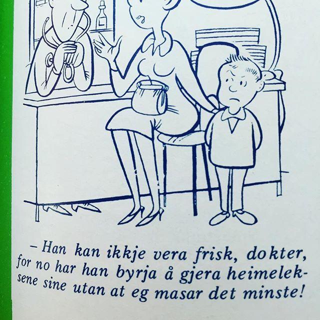 #norskbarneblad #humor #syttitalshumor #nynorsk #