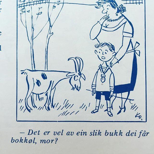 #nynorsk #syttitalshumor #humor #norskbarneblad #øl