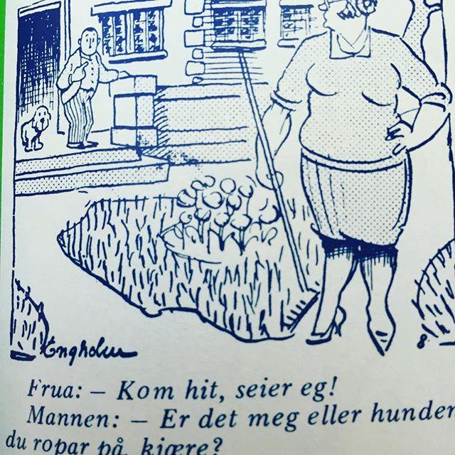 #nynorsk #syttitalshumor #humor #norskbarneblad #hund