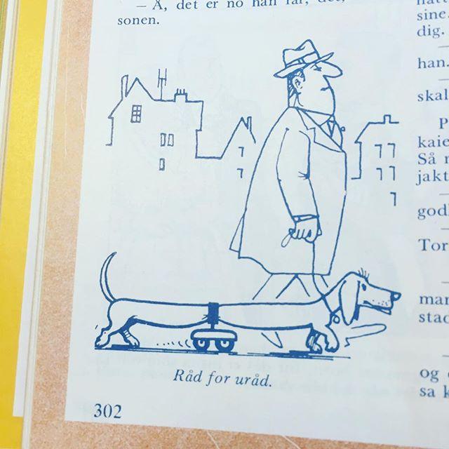 #norskbarneblad #humor #syttitalshumor #nynorsk #hund