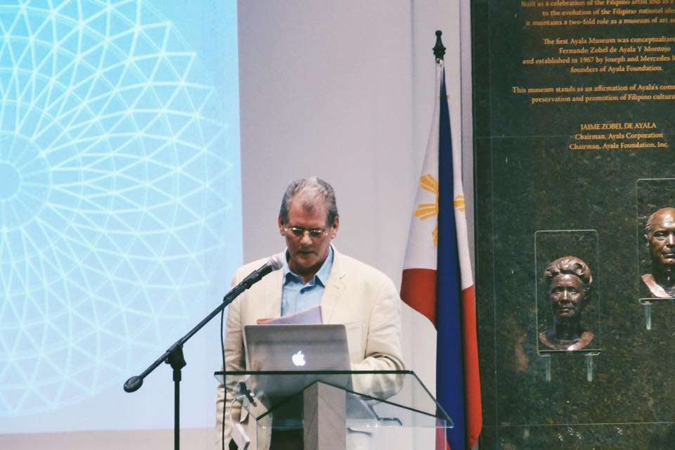 Richard Coleman gives a Design Talk at Ayala Museum, Manila on November 4, the first of a series of pre-festival events organised by Architecture Steiner. Richard is a founding member of Architecture Steiner and Principal of Citydesigner in London.