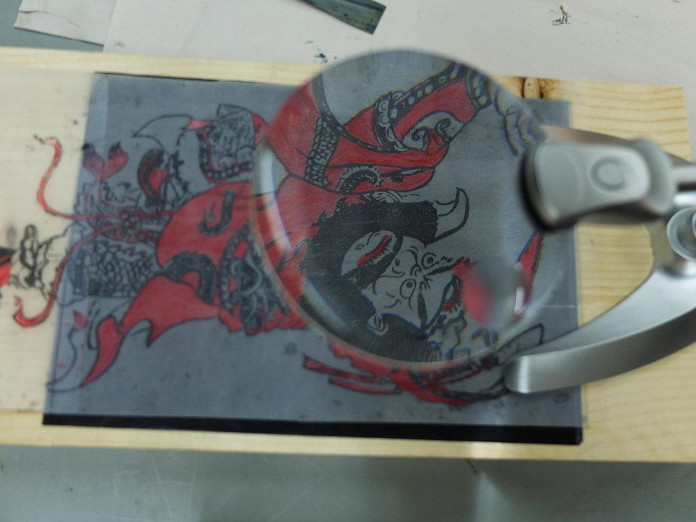 Moonzen Brewery x Marble, Print & Clay 木刻門神年畫