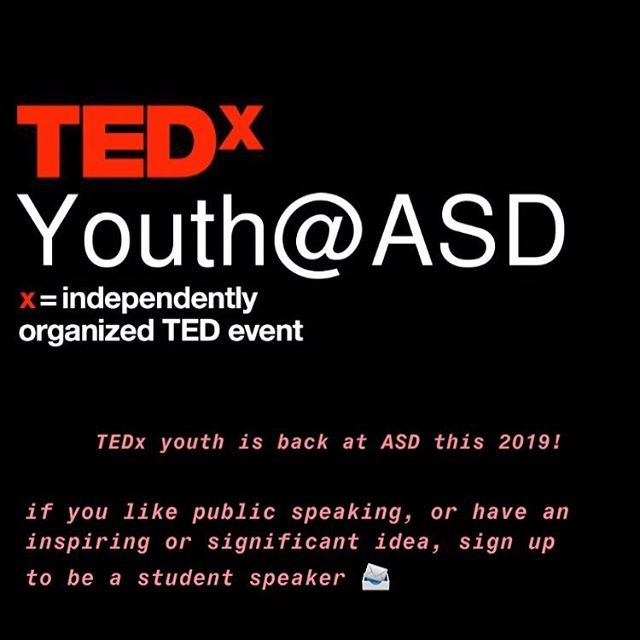 the student speaker form closes tomorrow, get your submissions in soon! ⏱