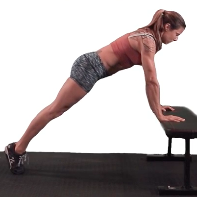 Elevated Plank Hold