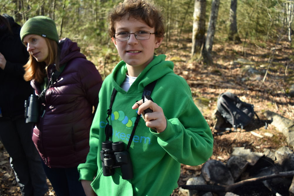 Our newest young birder Albert picked a great first outing!
