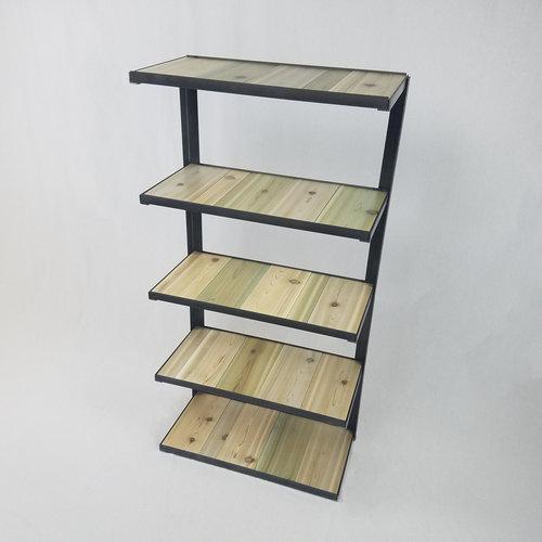 Cantilever Bookshelf Coastal Whole Grain Furniture Co