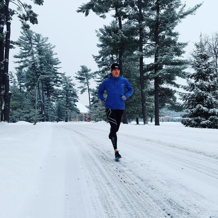 Dave training in Saratoga Springs, NY
