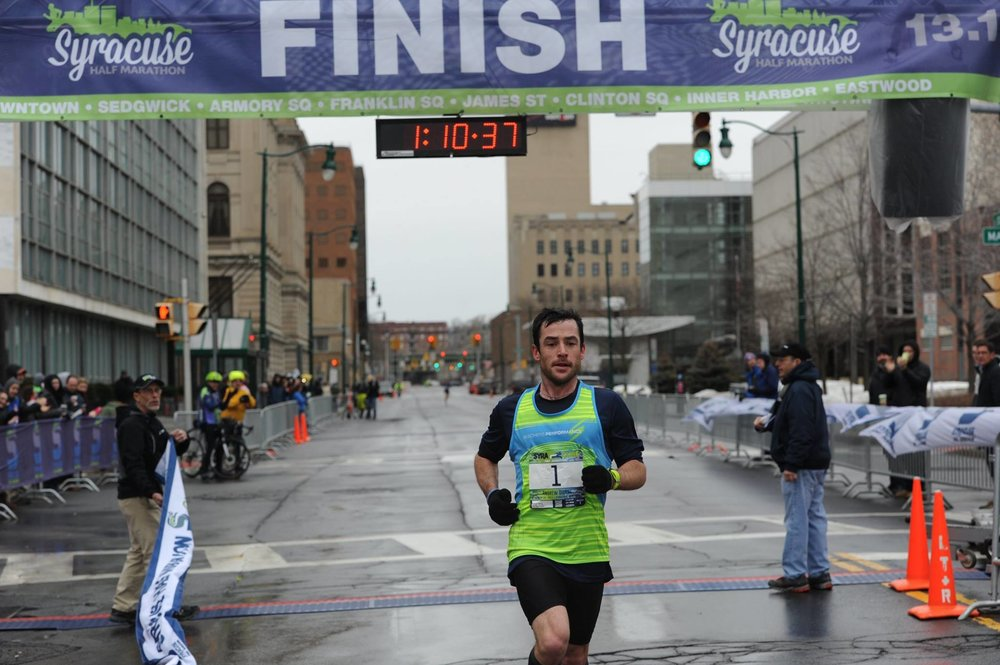 Winning the Syracuse Half Marathon