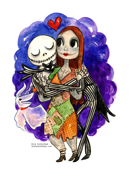 the nightmare before christmas jack sally - Sally From The Nightmare Before Christmas