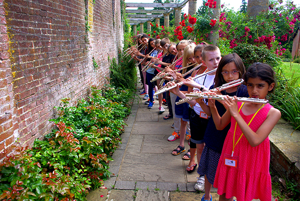 Flutewise Residential Course at Woldingham School 10 to 13 April 2017