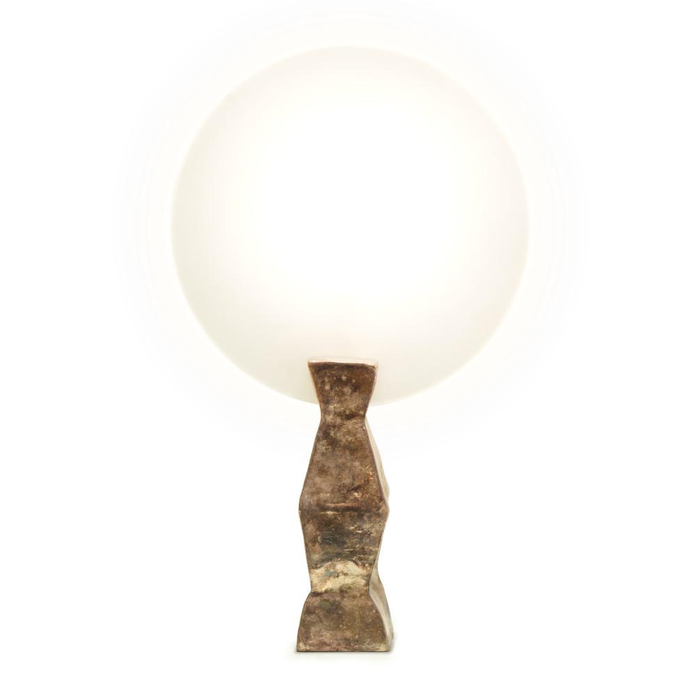 Lune lamp gold