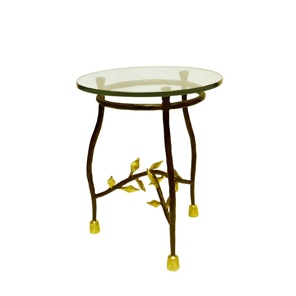 Feuilles side table