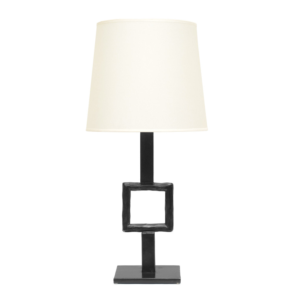 Carré lamp in black