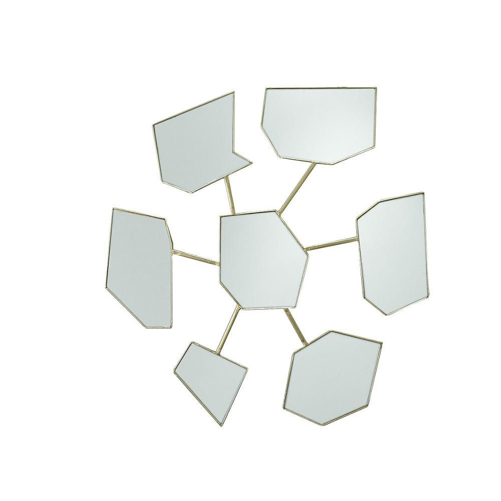 Big Bang gold leaf mirror