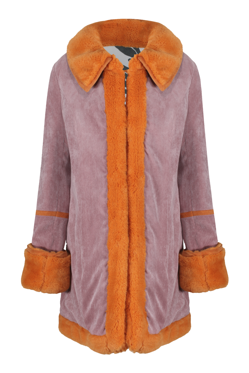 Electra coat Pink cord x Zany - SHOP NOW