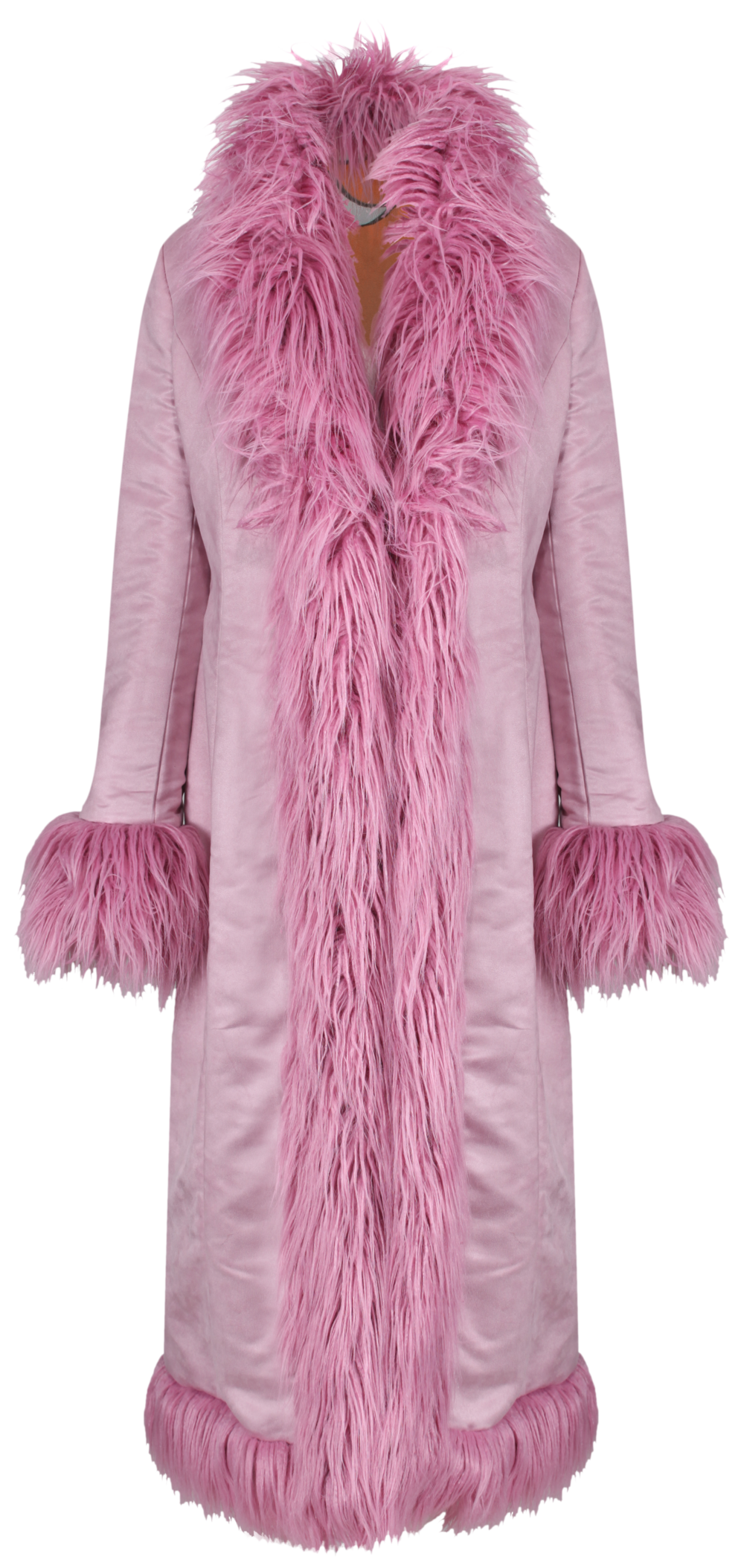 Himalia Coat PINK SUEDE x Lily - SHOP NOW