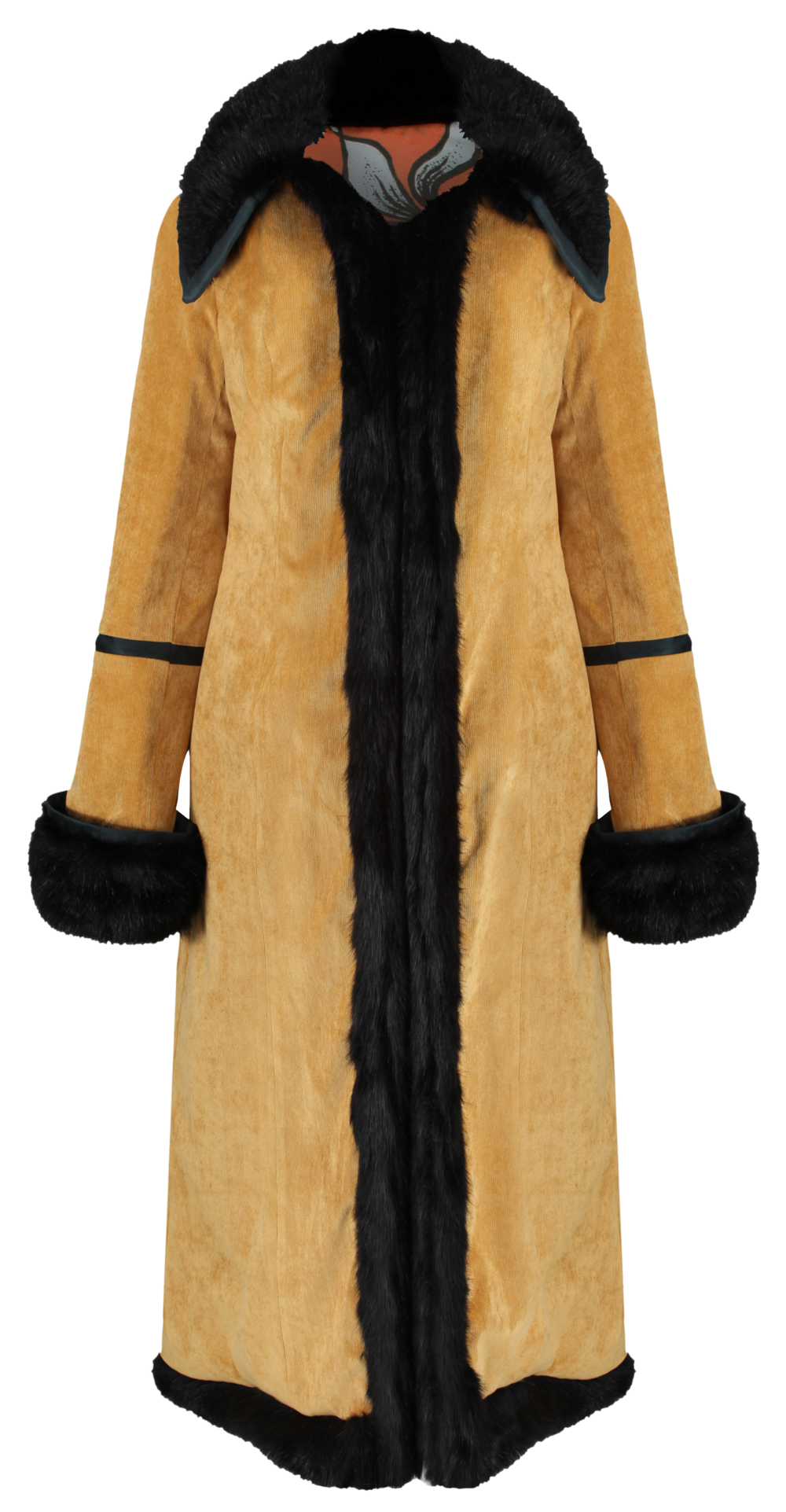 Electra Coat I- mustard CORD x TIGERLILY - SHOP NOW