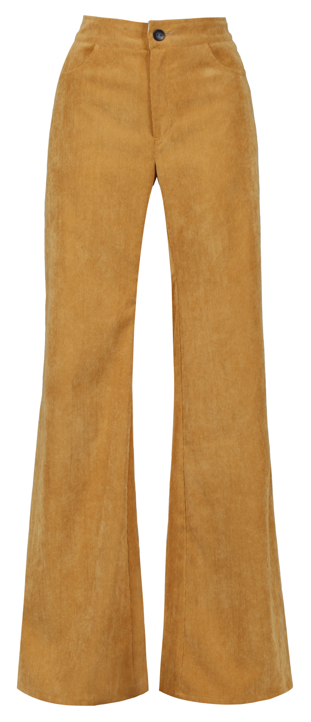 Luna CORD Trousers - MUSTARD  - SHOP NOW